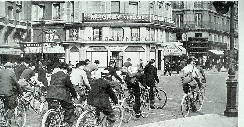 Paris pendant l'occupation