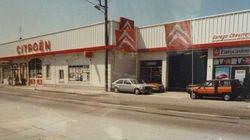 Citroën Louhans années 80-1000