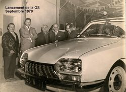 Citroën Louhans_lancement GS